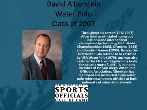 David Alberstein, Water Polo