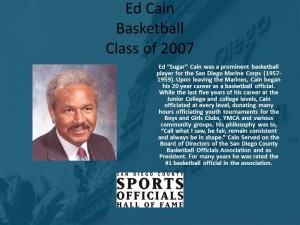 Ed Cain, Basketball
