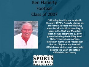 Ken Flaherty, Football