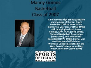 Manny Gomes, Basketball