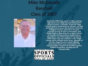 Mike McDonald, Baseball