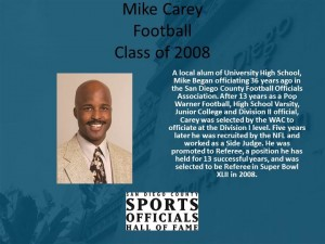 Mike Carey, Football