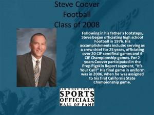 Steve Coover, Football