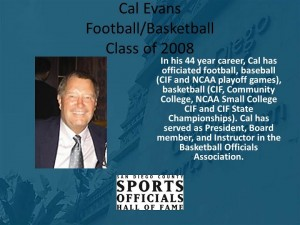 Cal Evans, Football/Basketball