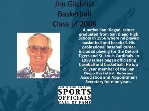 Jim Gilchrist, Basketball