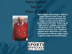 Hans Kramm, Soccer