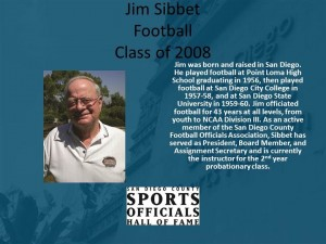 Jim Sibbet, Football