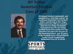 Bill Tellous, Basketball/Football