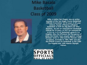 Mike Basalo, Basketball