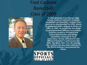 Fred Carbone, Basketball