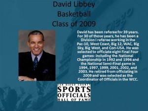 David Libby, Basketball