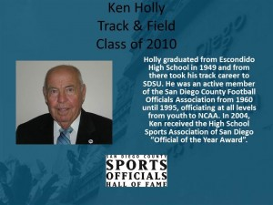Ken Holly, Track & Field
