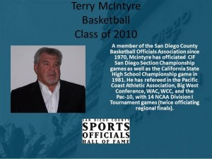 Terry McIntyre, Basketball