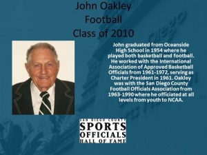 John Oakley, Football