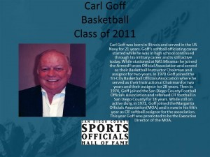 Carl Goff, Basketball