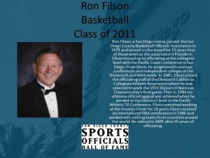 Ron Filson, Basketball
