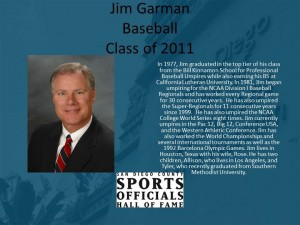 Jim Garman, Baseball