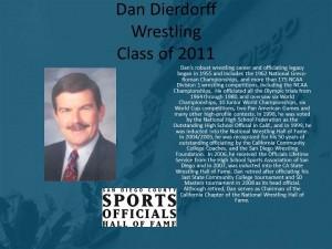 Dan Dierdorff, Wrestling