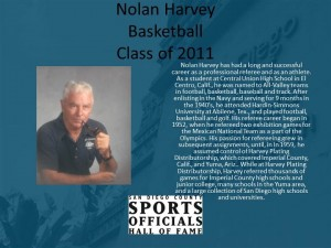 Nolan Harvey, Basketball