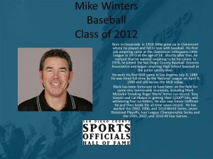 Mike Winters, Baseball