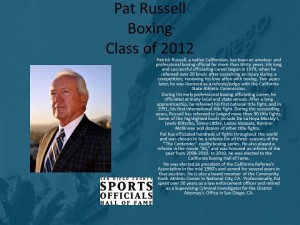 Pat Russell, Boxing