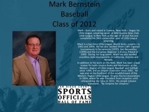 Mark Berstein, Baseball