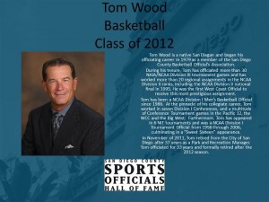Tom Wood, Basketball